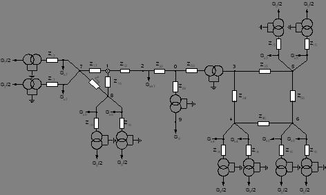 Рисунок 4 - Схема замещения
